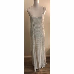 Flynn Skye White & Black patterned Maxi Dress